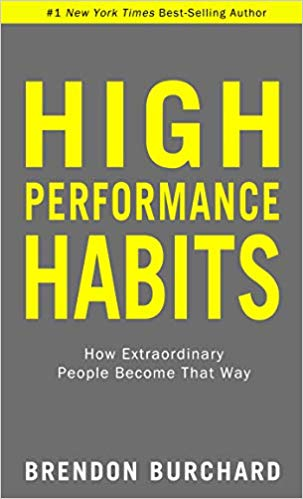 image of high performance habits book