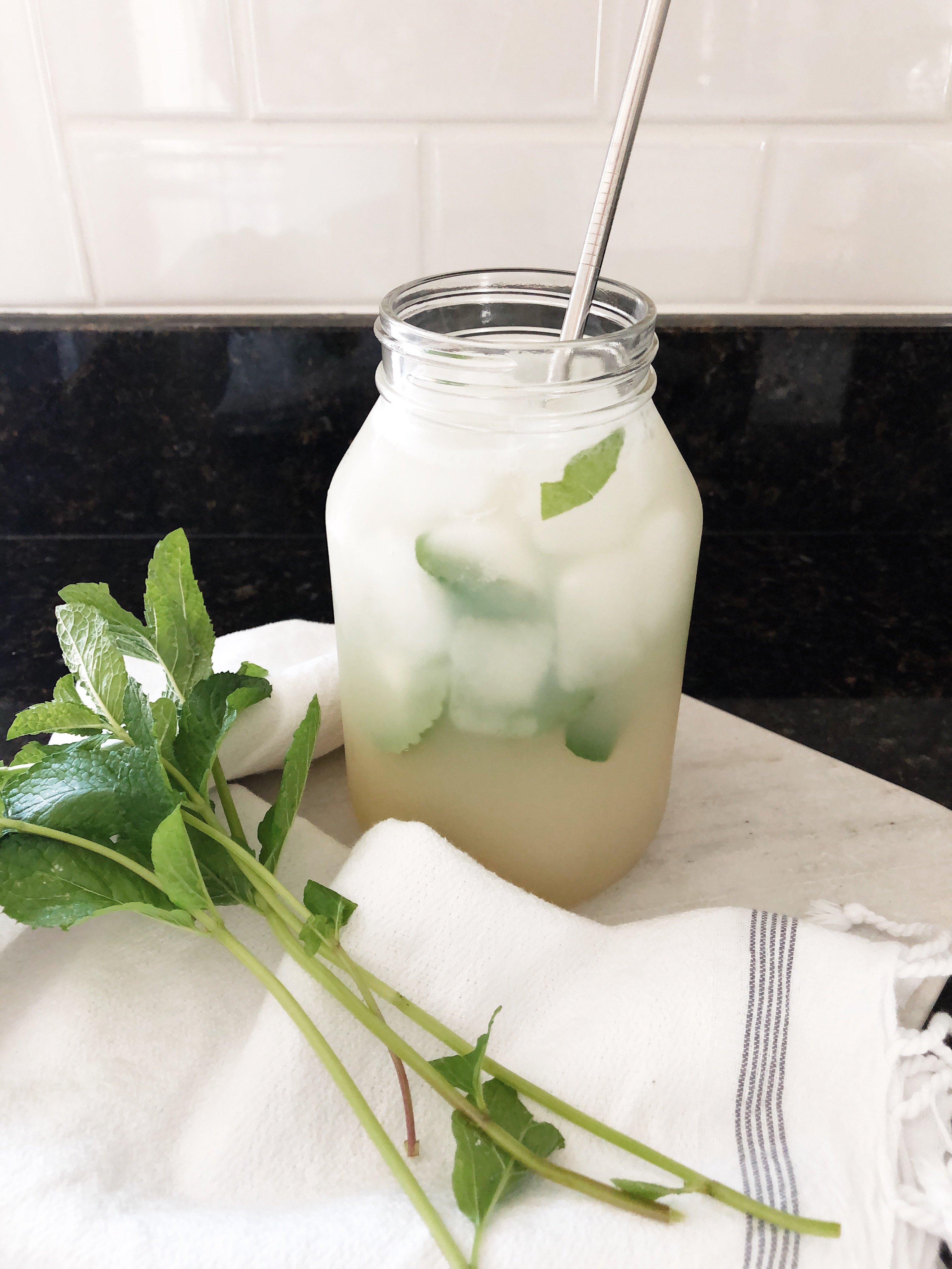 Image of mint lemonade