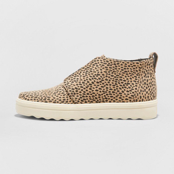 Image of leopard sneakers