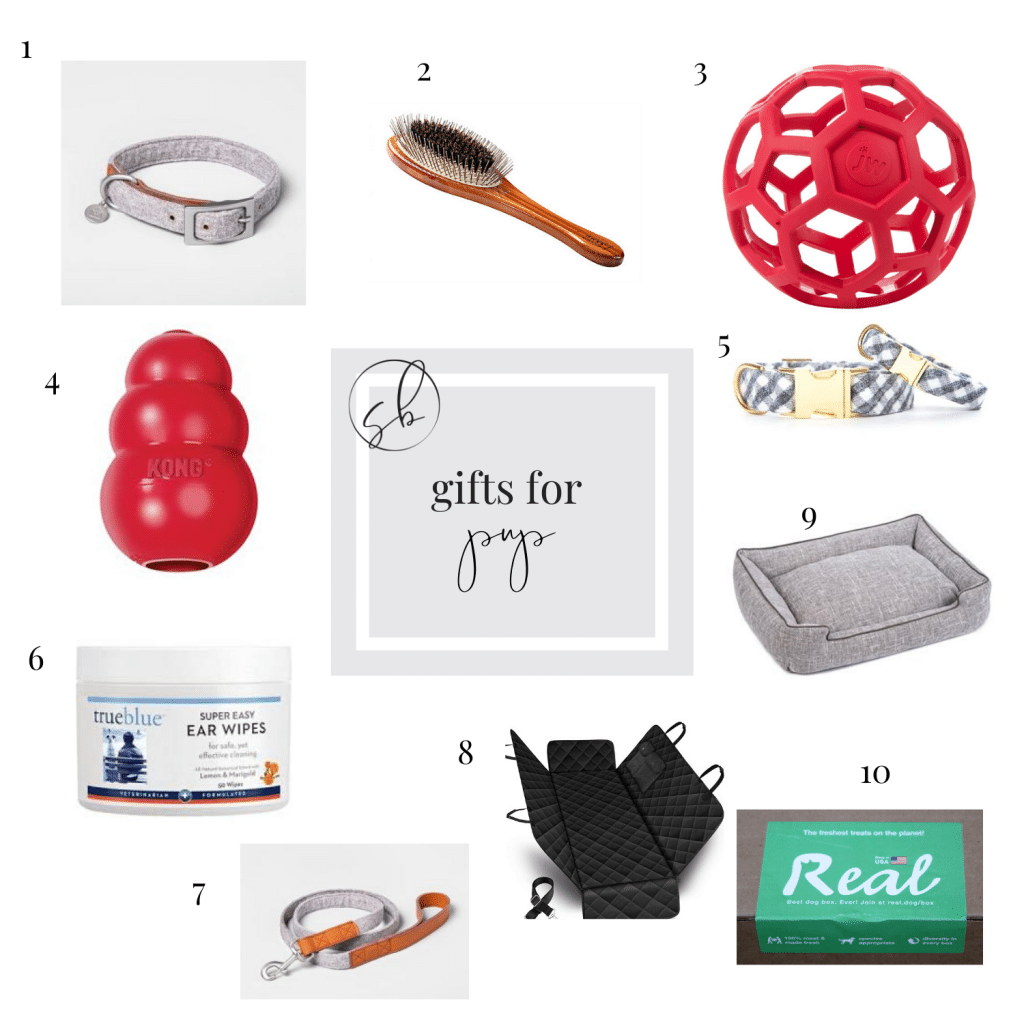 Gift guide for the pup.
