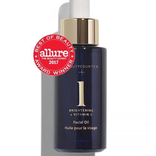 brightening facial oil